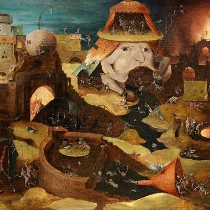 """Christ en limbes"" Jérome Bosch XV ème siècle"